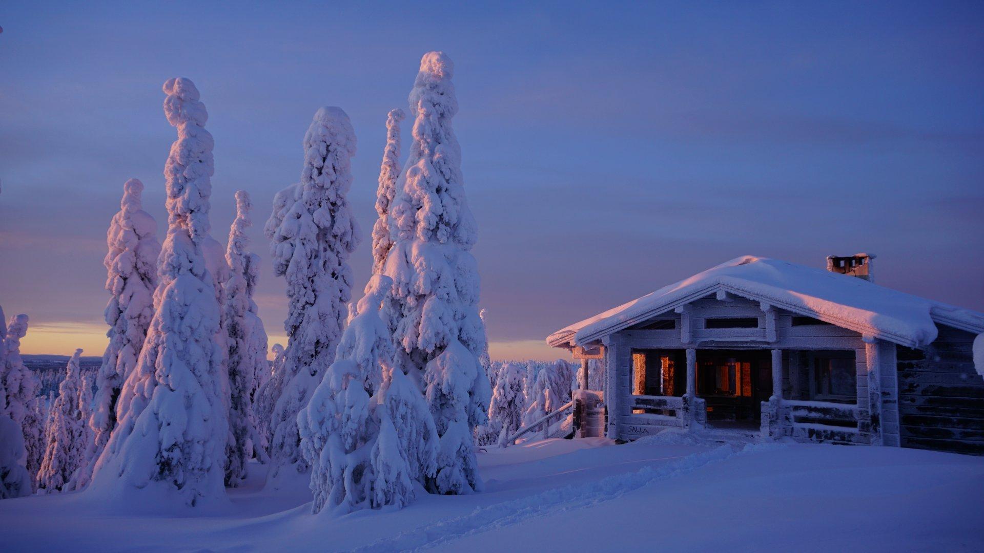 Laponia en Pre-Navidad