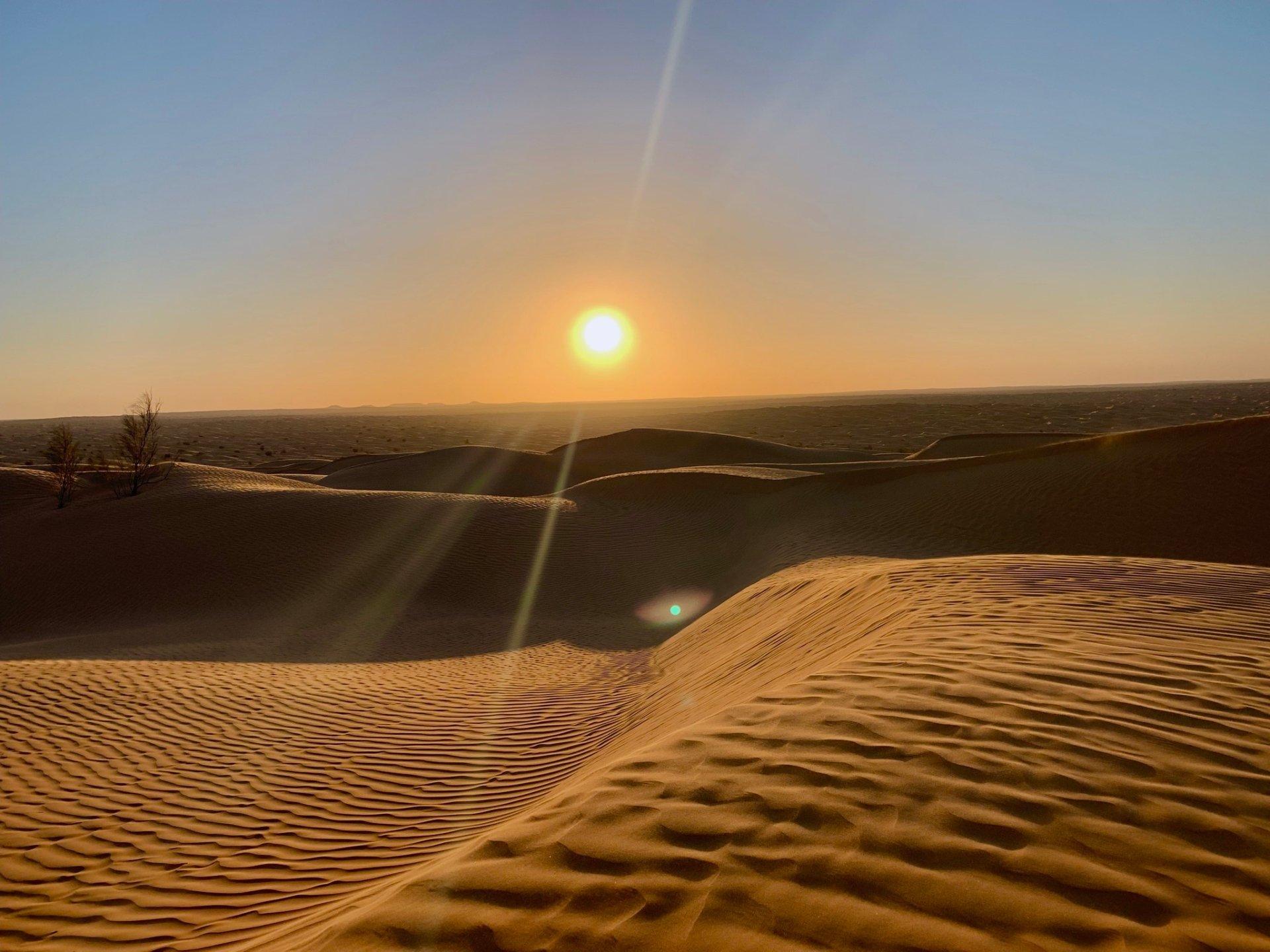 El desierto del Sahara Tunecino