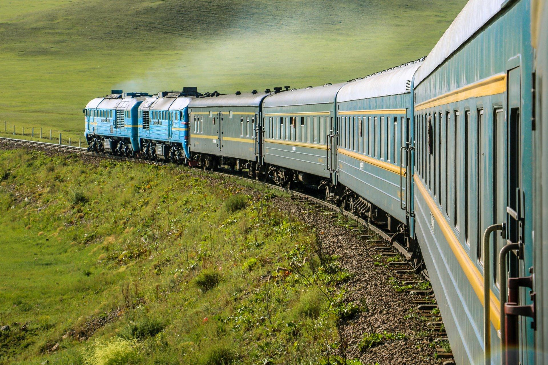El Transiberiano, posiblemente el tren más famoso del mundo