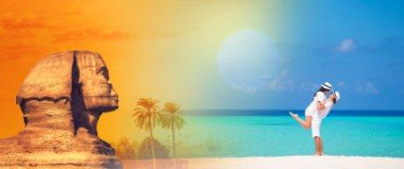 ROMANCE EN EGIPTO Y MALDIVAS
