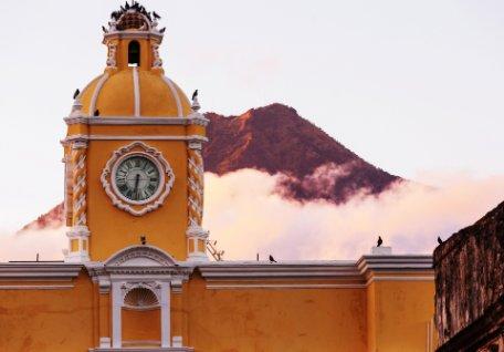 POSTALES DE GUATEMALA Y HONDURAS
