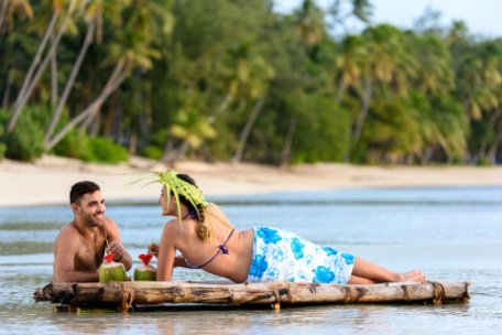 FIJI: ESTANCIA EN ISLAS MAMANUCA O ISLAS YASAWA