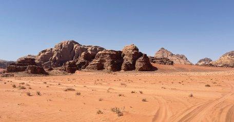 Wadi Rum, el desierto de otro planeta en Jordania