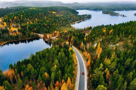 Secretos de Finlandia en otoño