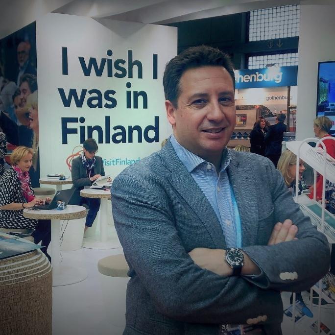 David Campano, Sales & Marketing Manager España e Italia en Visit Finland