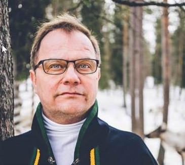 Erkki Parkkinen, Alcalde de Salla (Finlandia)